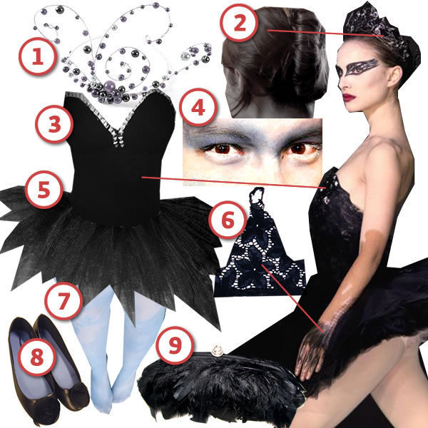The Black Swan 183 Diy The Look 183 Cut Out Keep Craft Blog